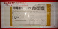 USPS Priority Mail International envelope